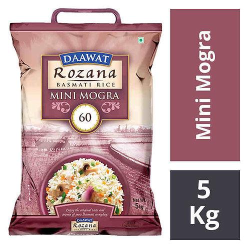 Daawat Rozana Mini Mogra Basmati Rice : 5 kgs