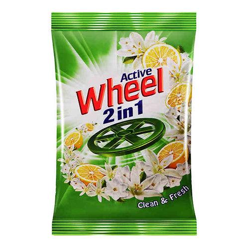Wheel Active Lemon & Jasmine Detergent Powder : 1 kg