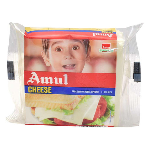 Amul Cheese Slices : 200 gms