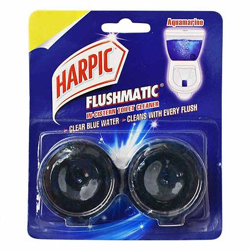 Harpic Flushmatic Twin Aquamarine : 100 gms