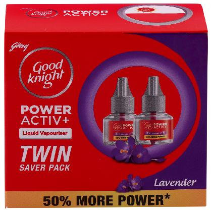 Good Knight Activ+ Lavender Mosquito Repellent Refill 45 ml (Pack of 2)