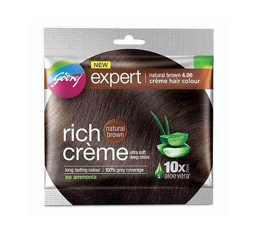Godhrej Expert Rich Creme Natural Brown 4 Hair Colour : 20gms