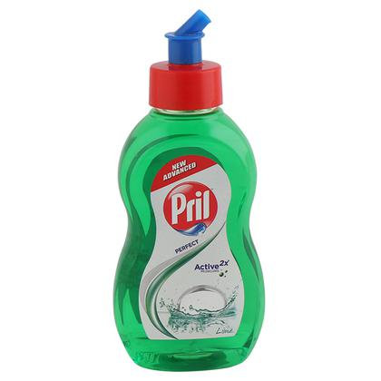 Pril Perfect Lime Dishwash Liquid 225 ml