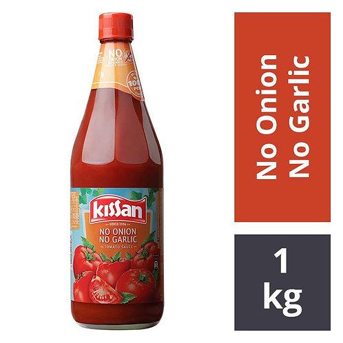 Kissan Tomato Sauce - No Onion No Garlic : 1 kg