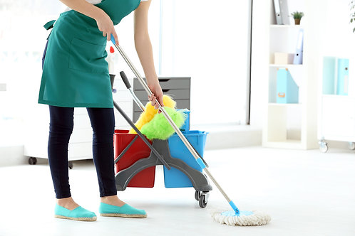 Home cleaning 3 bhk / one time