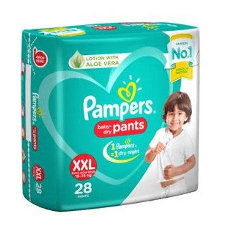Pampers Baby Dry Pants - XXL : 28 U