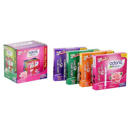 Odonil Air Freshener Block 75 g (Buy 3 Get 1 Free)