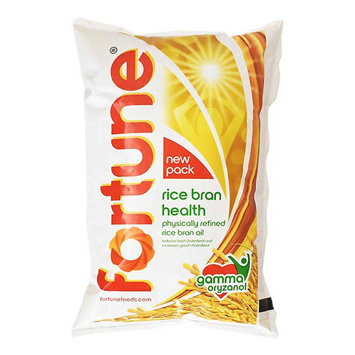 Fortune Rice Bran Health Oil : 1 Litre