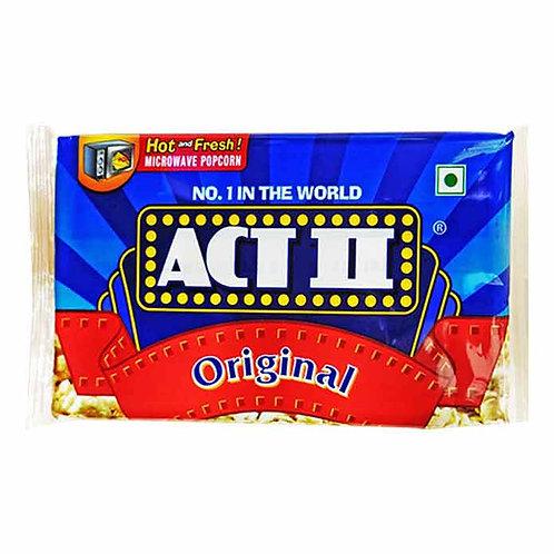Act II Microwave Popcorn - Original : 99 gms