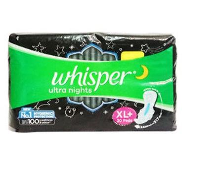 Whisper Ultra Nights XL+ Wings Pads : 30U