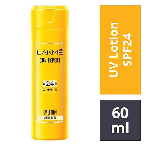 Lakme Sun Expert SPF24 PA++ UV Lotion : 60 ml