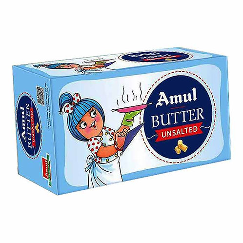 Amul Unsalted Butter : 500 gms