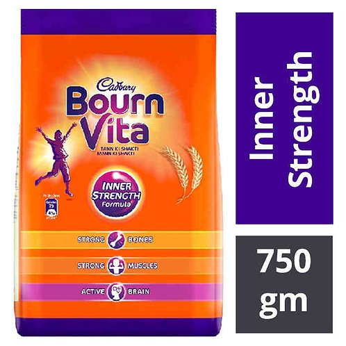 Cadbury Bournvita Health Drink Refill : 750 gms