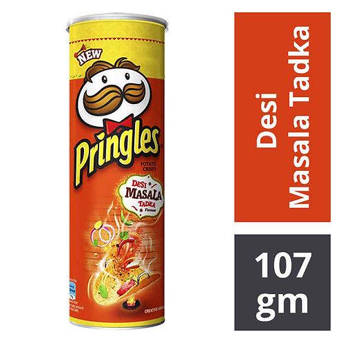 Pringles Potato Chips - Desi Masala Tadka : 107 gms