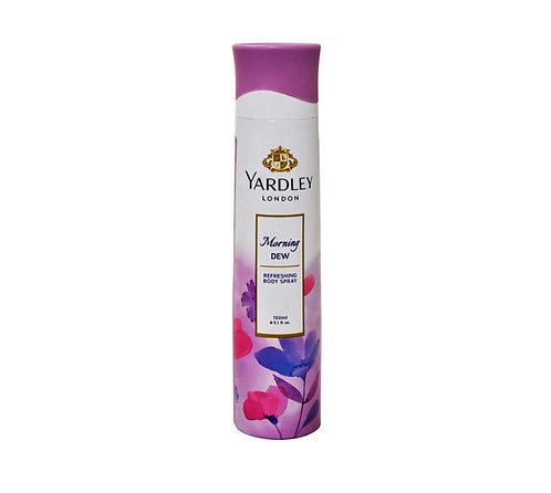 Yardley London Morning Dew Body Spray: 150ml
