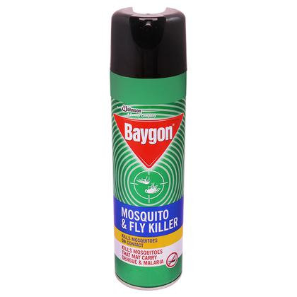 Baygon Mosquito & Fly Killer Spray 400 ml