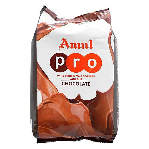 Amul Pro Whey Protein Malt Chocolate Drink : 500 gms