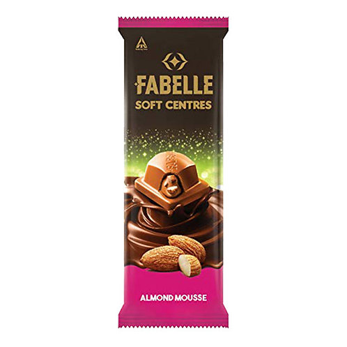 Fabelle Almond Mousse Soft Centres Chocolate : 58 gms