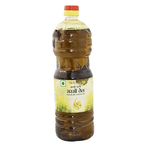 Patanjali Kachi Ghani Mustard Oil : 1 Litre