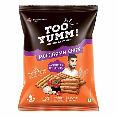 Too Yumm Chinese Hot & Sour Multigrain Chips : 82 gms