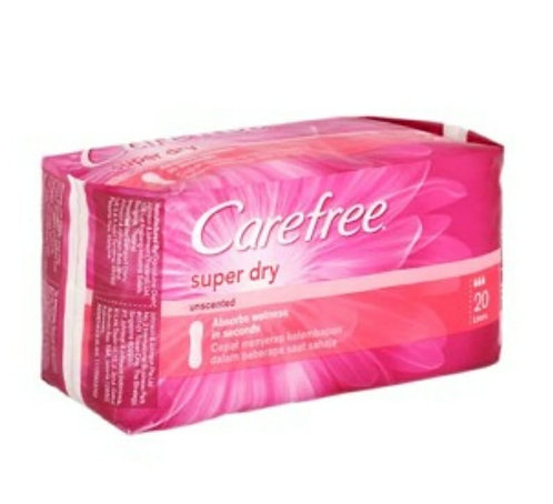 Carefree Super Dry Panty Liners :20U