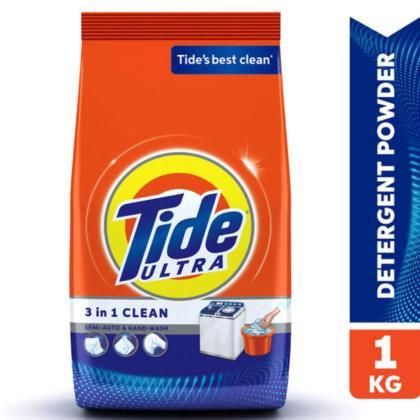 Tide Ultra 3 in 1 Detergent Powder 1 kg