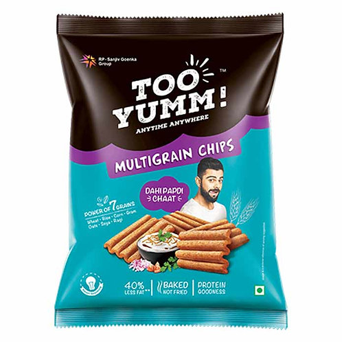 Too Yumm Dahi Papdi Chat Multigrain Chips : 82 gms