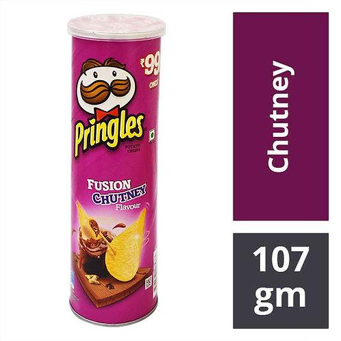Pringles Potato Chips - Fusion Chutney : 107 gms