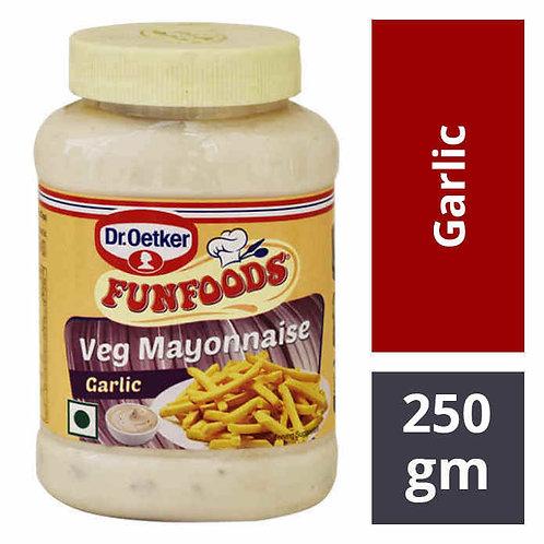 Funfoods Veg Mayonnaise - Garlic : 250 gms