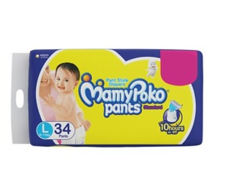 Mamy Poko Standard Diaper Pants - Large : 34 U