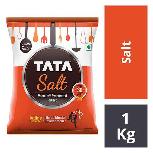 Tata Salt - Evaporated Iodised : 1 kg