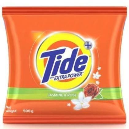 Tide Plus Jasmine & Rose Detergent Powder 500 g
