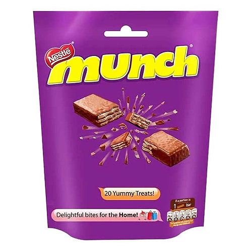 Nestle Munch Share Bag : 202 gms