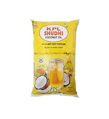 KPL Shudhi Coconut Oil : 1 litre