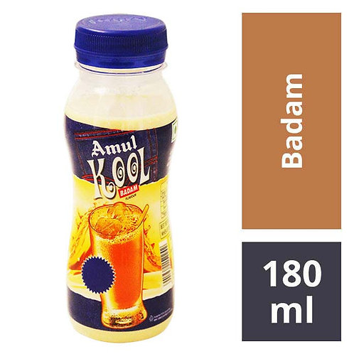 Amul Kool Badam Milk : 180 ml