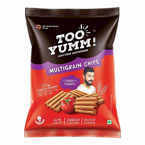 Too Yumm Tangy Tomato Multigrain Chips : 54 gms