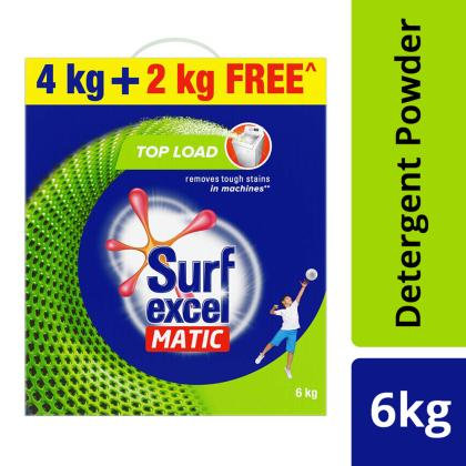 Surf Excel Matic Top Load Detergent Powder 4 kg