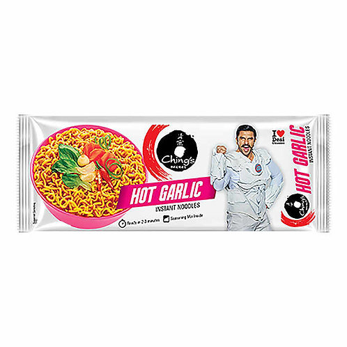 Ching's Hot Garlic Instant Noodles : 240 gms