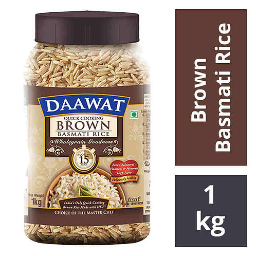 Daawat Brown Basmati Rice : 1 kg