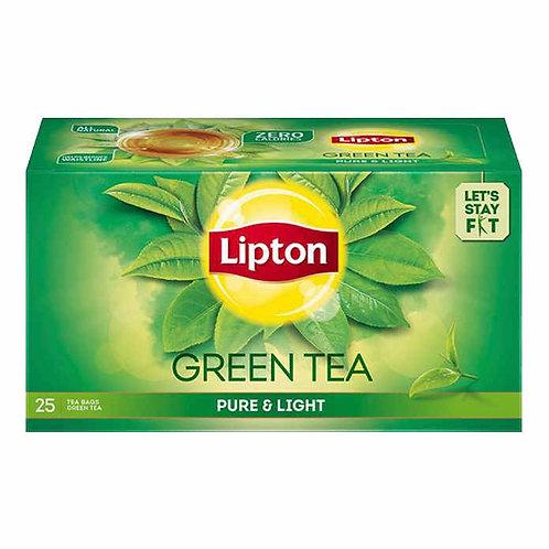 Lipton Green Tea - Pure & Light : 25 Tea-Bags