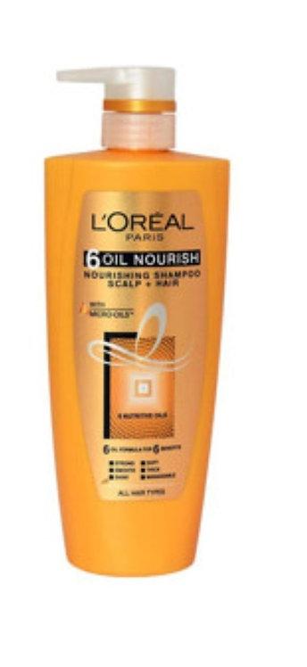 "L""Oreal Paris 6 Oil Nourish Shampoo : 640ml"