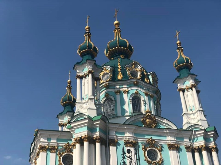 St Andrew's Church, Kyiv