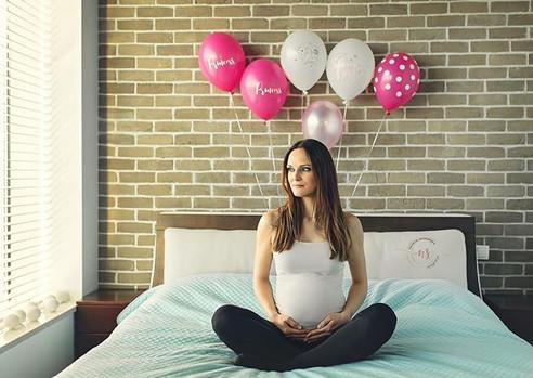 Domowa sesja ciążowa Julii 💝🤰🏼🥰 #ses