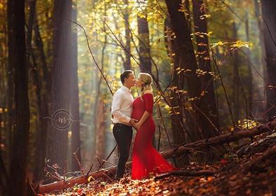 Miłość ❤️ On,ona i ich maleństwo 🧡🤰🏼?