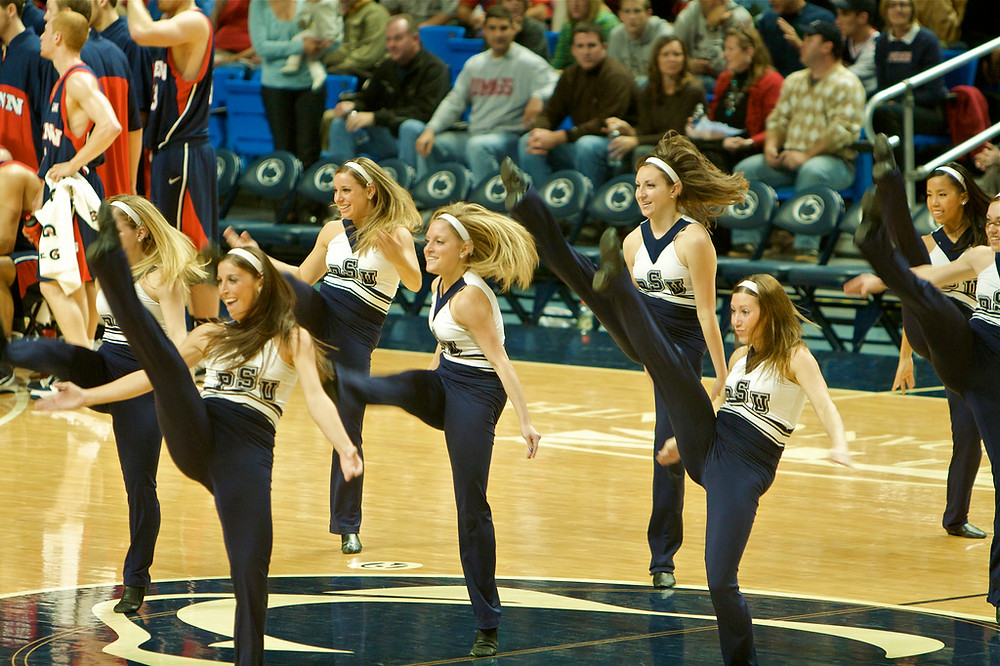 Taken on November 13, 2009. Penn State Dance team by Dan Stanfield