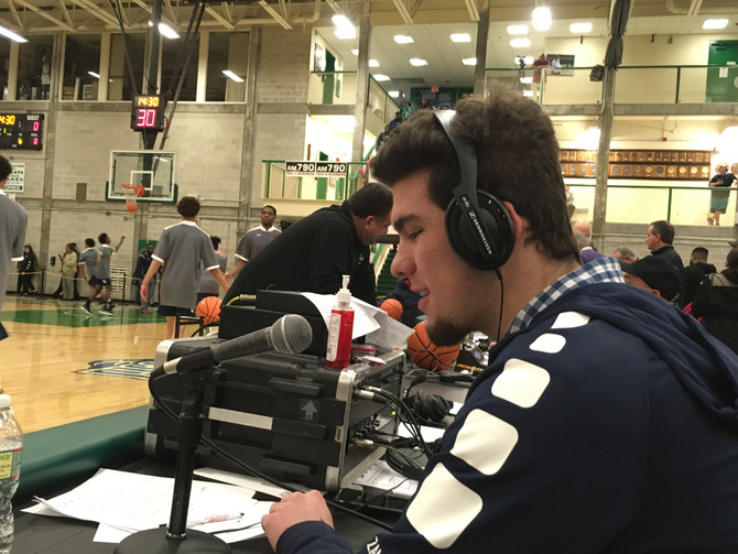 The Pregame Show: One junior's foray into professional radio