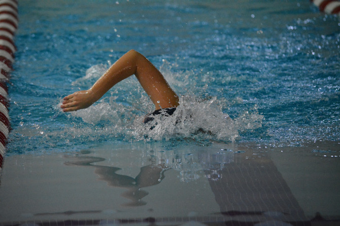 Swim is not an easy sport