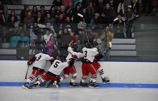 Boys Hockey trying to advance