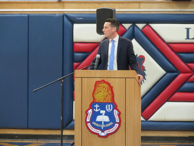 Mr. McNamara Wins Principal of the Year