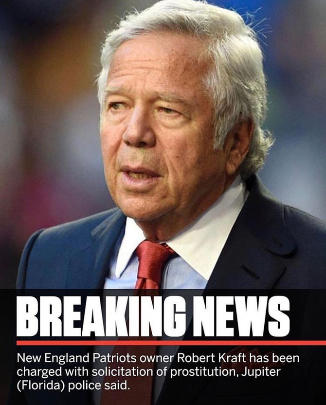 The Robert Kraft Scandal